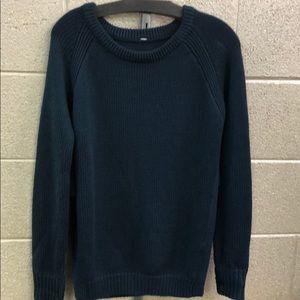 Dark teal lululemon sweater